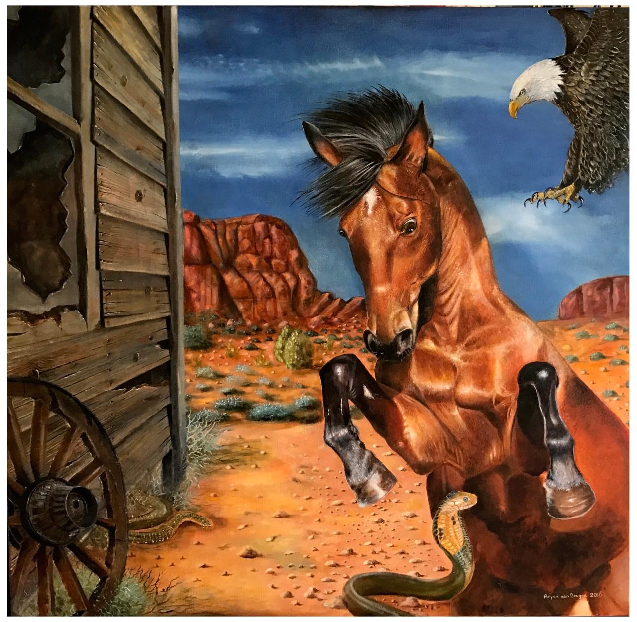 horse-web